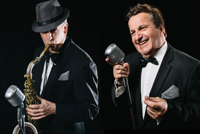 Rat Pack and Sax Rat Pack Tribute Duo